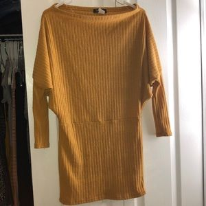 Off the shoulder fall vibes dress